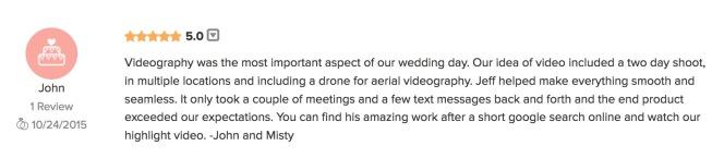 Read more on weddingwire.com