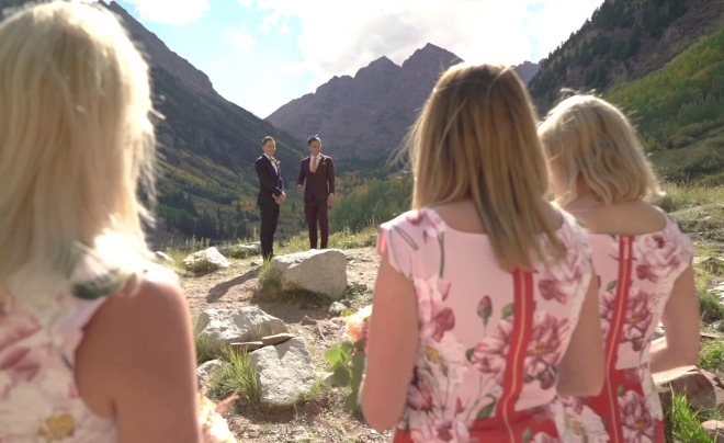 Maroon Bells Ceremony